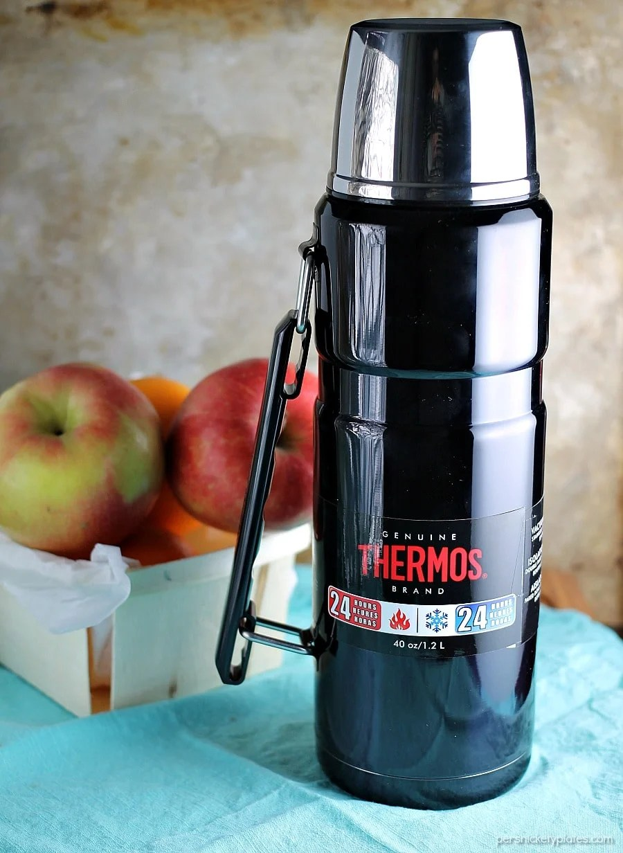 Cranberry Orange Cider only takes about 15 minutes to make and is perfect for all the winter and holiday activities that leave you cold and in need of warming up!   www.persnicketyplates.com