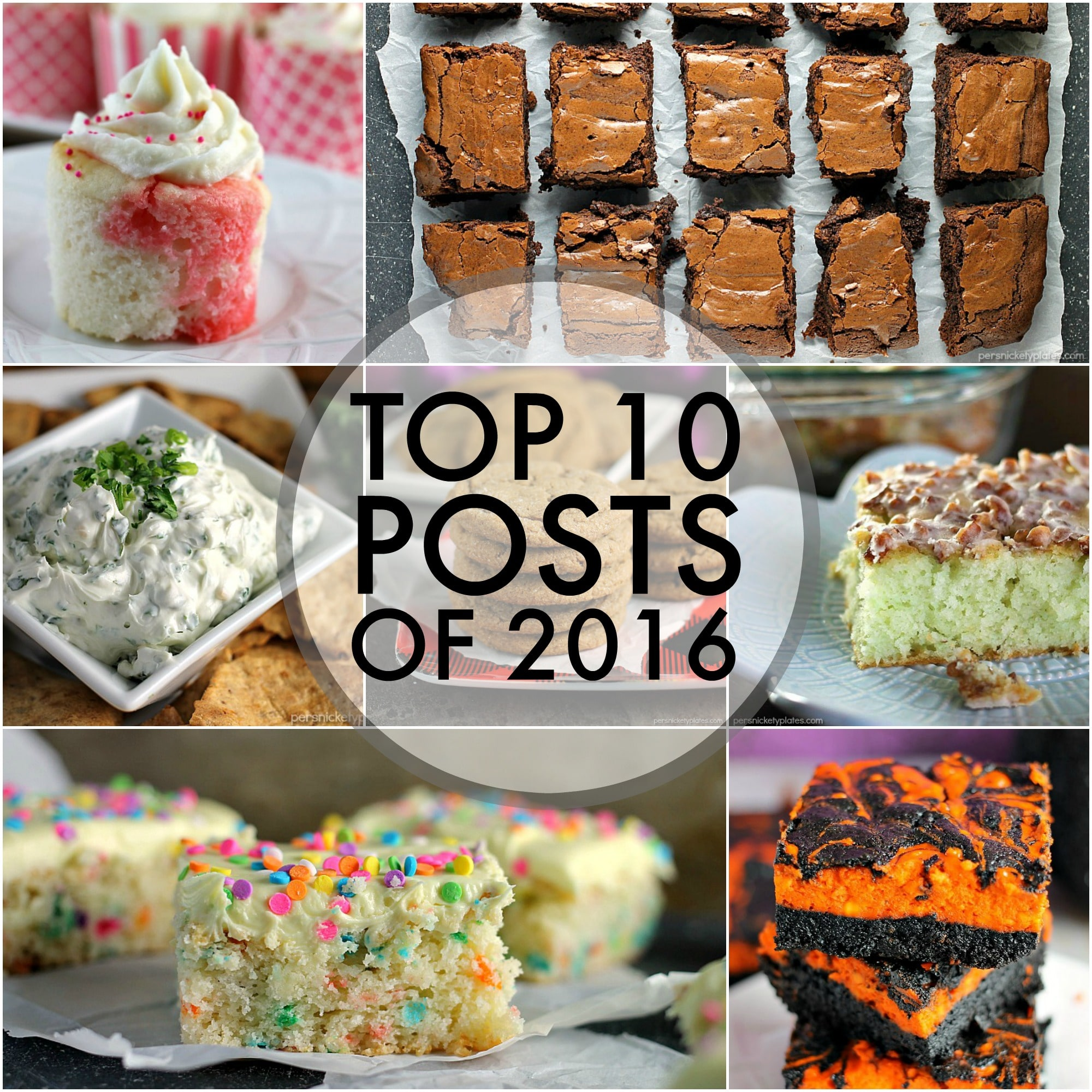 The top 10 posts of 2016 on Persnickety Plates! The most popular, most viewed, YOUR favorites. | www.persnicketyplates.com
