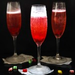 This Cranberry Prosecco Spritzer combines the vibrant bubbles of Riondo Prosecco with the warm winter notes of spearmint and cranberries. It's the perfect accompaniment to wrapping gifts and spending time with family and friends around the fire or in the kitchen.   www.persnicketyplates.com