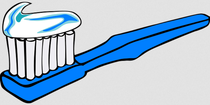 toothbrush image from pixabay
