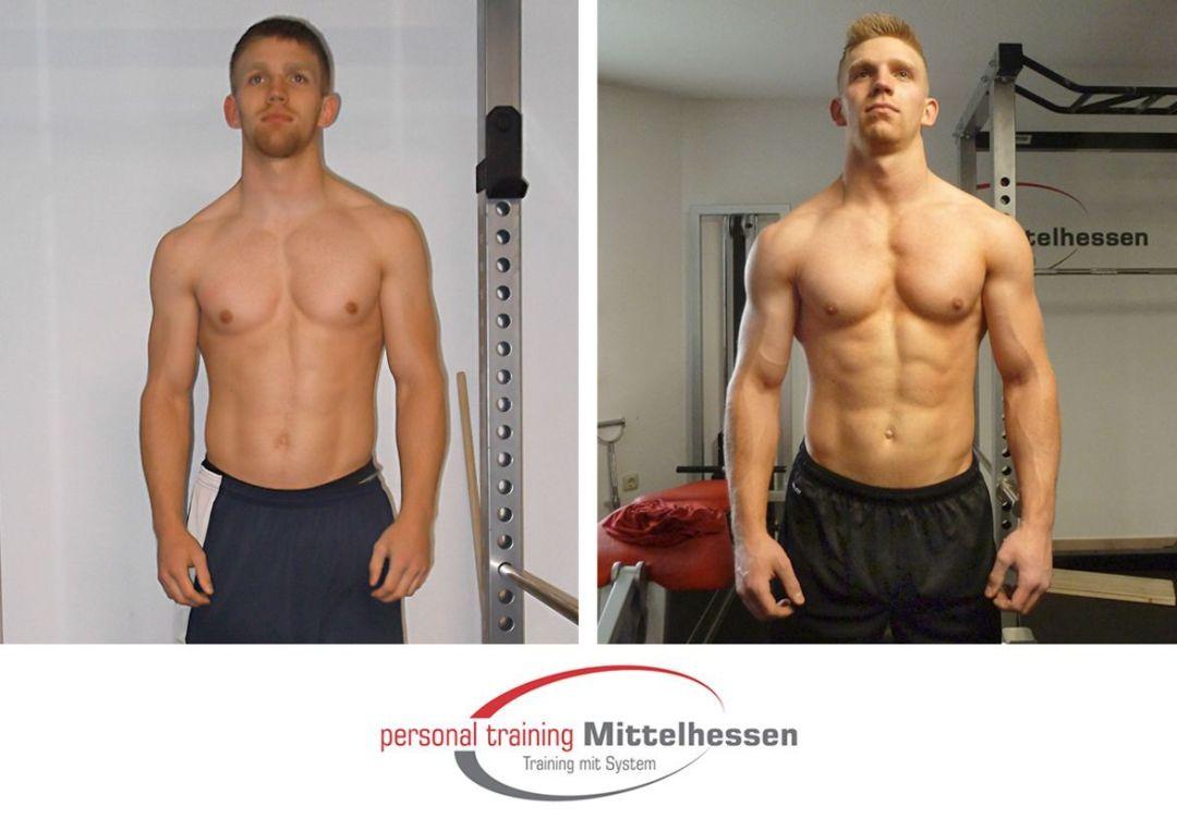 Muskeln aufbauen - Sascha Göbel