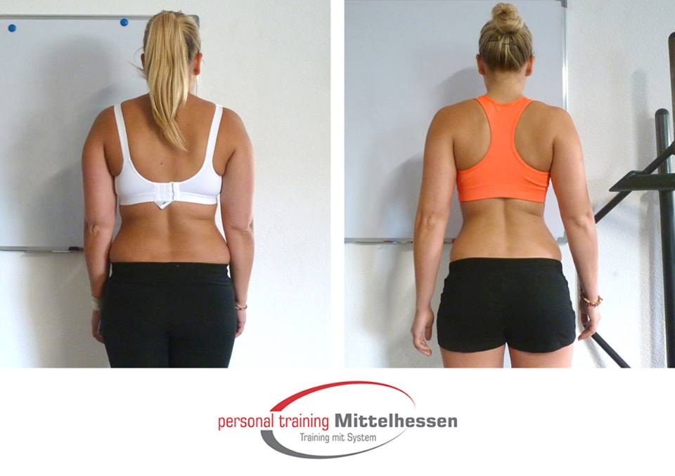 Körperfett reduzieren - Svenja Jenky - Hinten
