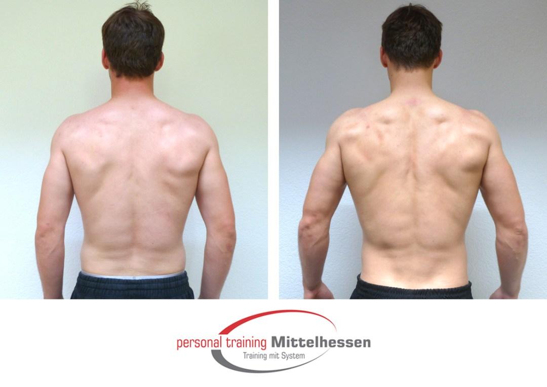 Muskeln aufbauen Vaclav K back