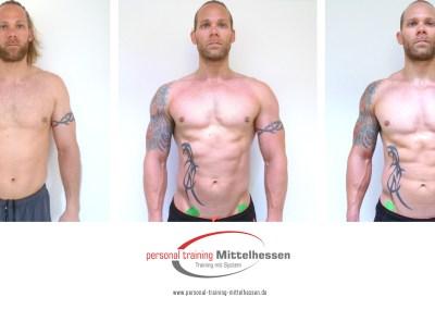 Muskeln aufbauen: Ergebnis von Kevin Lavallee