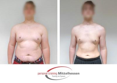 Körperfett reduzieren: Ergebnis von Tim H