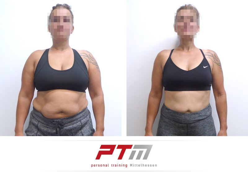 Körperfett reduzieren für die Frau – Körperfettanteil halbiert