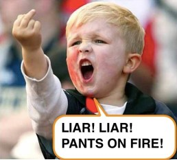 Image result for liar liar pants on fire