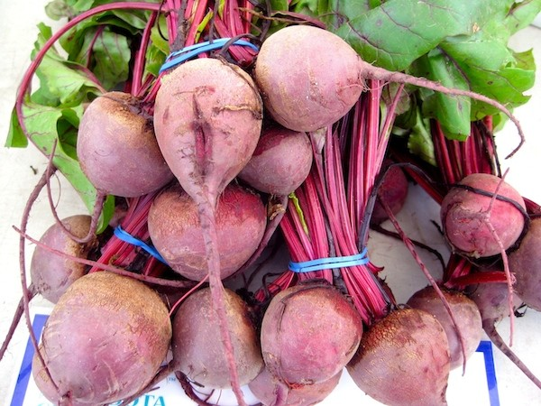 Beets and their greens are great for liver support