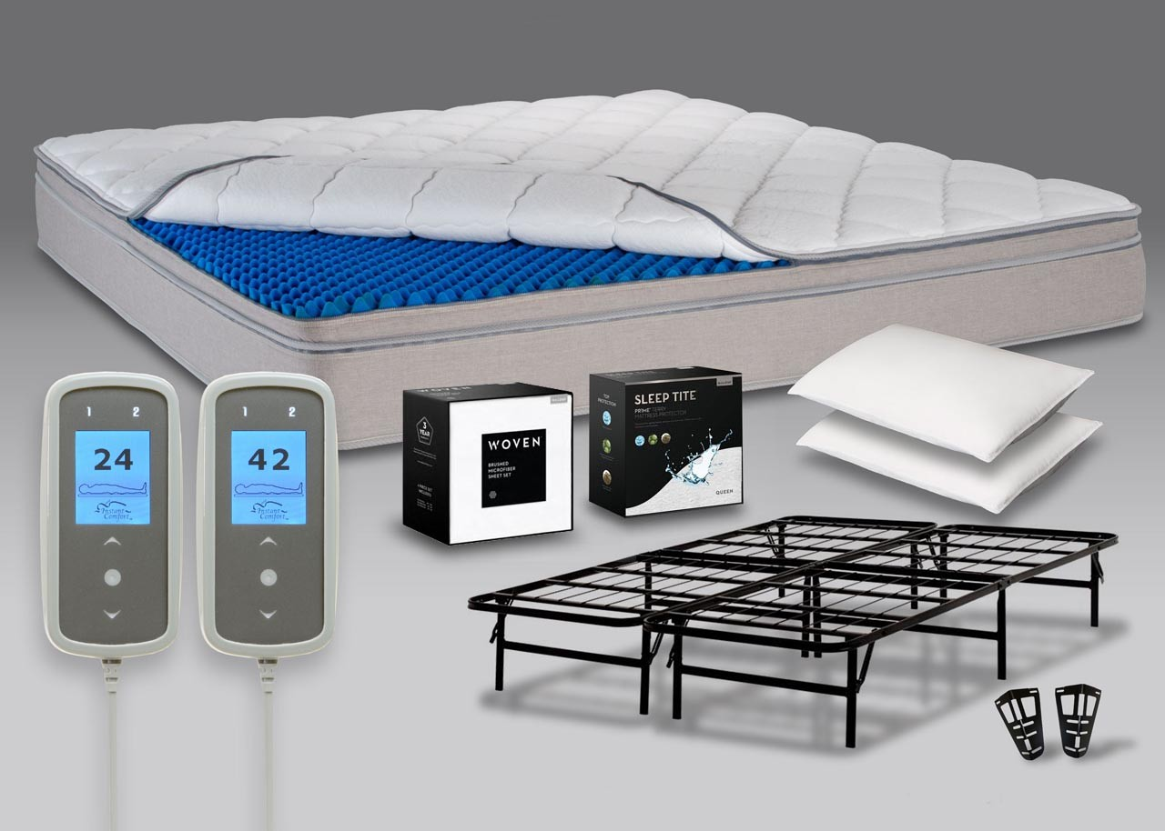 Save 60 Over Sleep Number P5 Bed Set With Personal Comfort