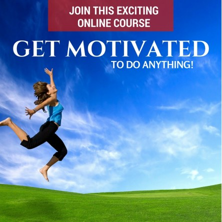 how to get motivated online course
