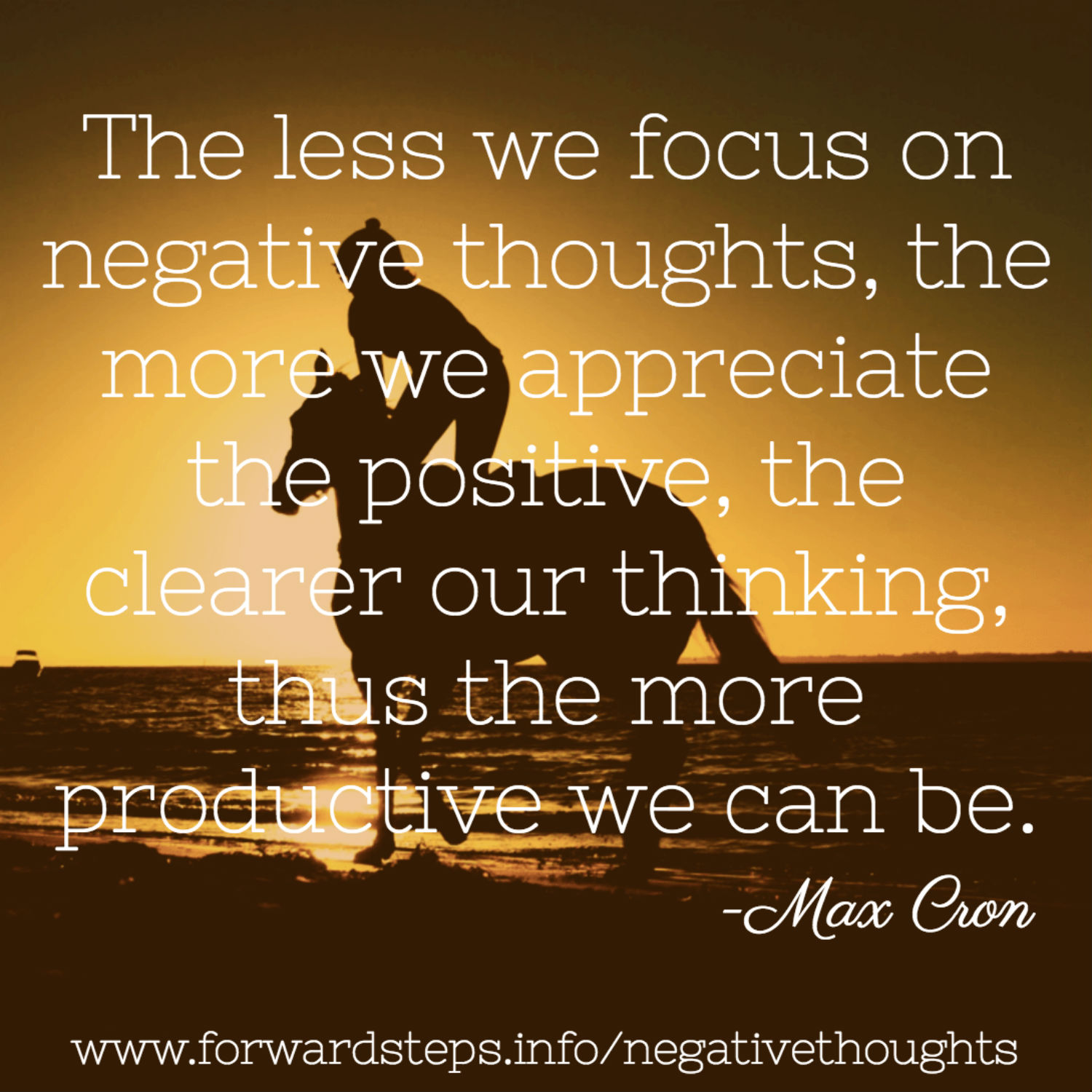 Negative Thoughts To Productive Moments