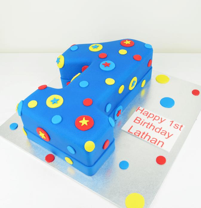 number 1 cake kids cakes cakes sydney Personalised Cakescomau