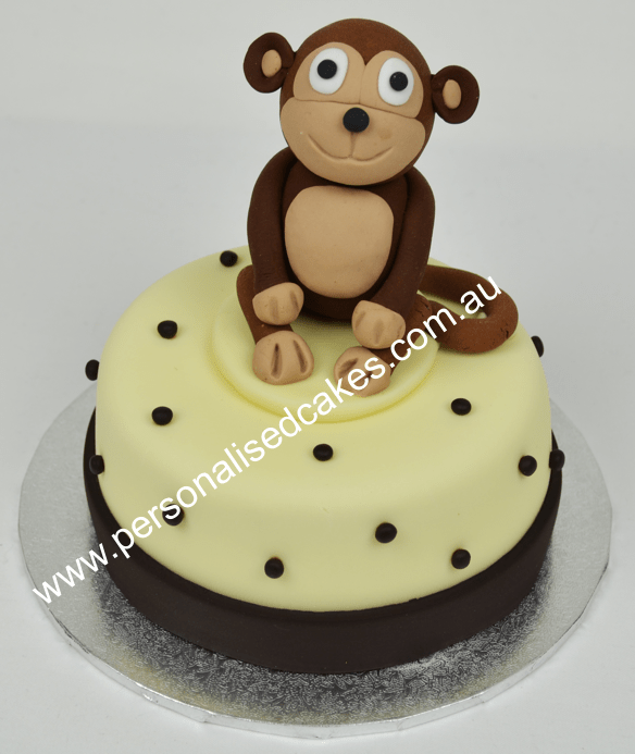 Remarkable Mini Cakes Monkey Cake Birthday Cakes Sydney Cakes Funny Birthday Cards Online Alyptdamsfinfo