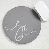 Personalized Mouse Pads for Her - My Monogram - 10171