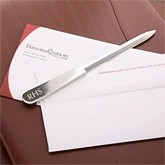 Engraved Silver Letter Opener  - 2625