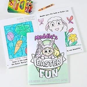 Easter Activity Books for Kids