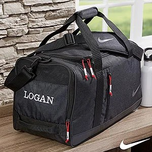 Nike� Embroidered Duffel Bag