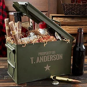 Authentic Personalized 30 Cal Ammo Box