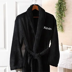 Image result for personalized robe for men