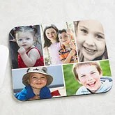 Photo Montage Personalized Mouse Pad - 4462