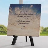 Dream, Create, Become Personalized Marble Plaque - 5377