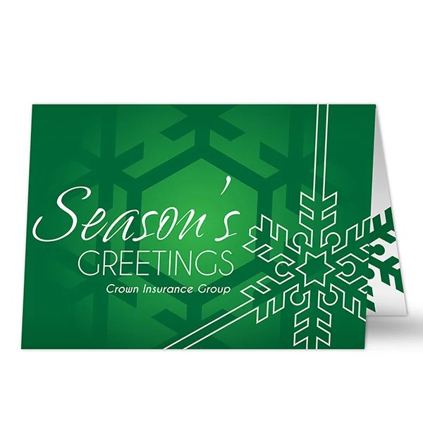 14733 Joyous Season Personalized Business Christmas Cards