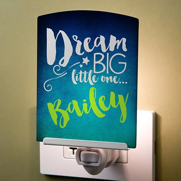 Personalized Night Light