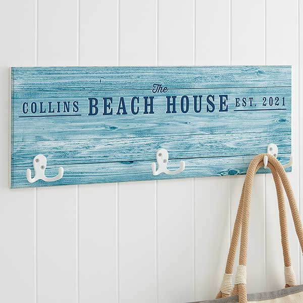 home away from home personalized coat rack