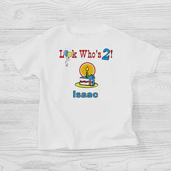 Personalized Toddler Birthday T Shirt Birthday Boy Or Girl Birthday Gifts