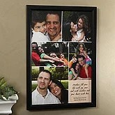 Photo Collage & Poem Personalized Canvas Art for Her - 6796