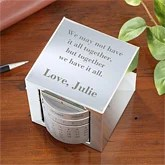 Personalized Perpetual Calendar - Inspirational Quote - 7721