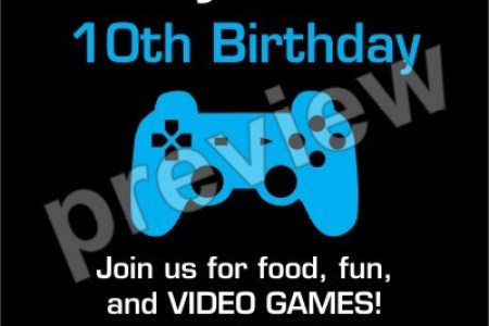 Video game birthday invitations path decorations pictures full jewel puzzle video game birthday invitation unique jewel puzzle video game birthday party invitation front video game birthday invitations ideas bagvania stopboris Choice Image