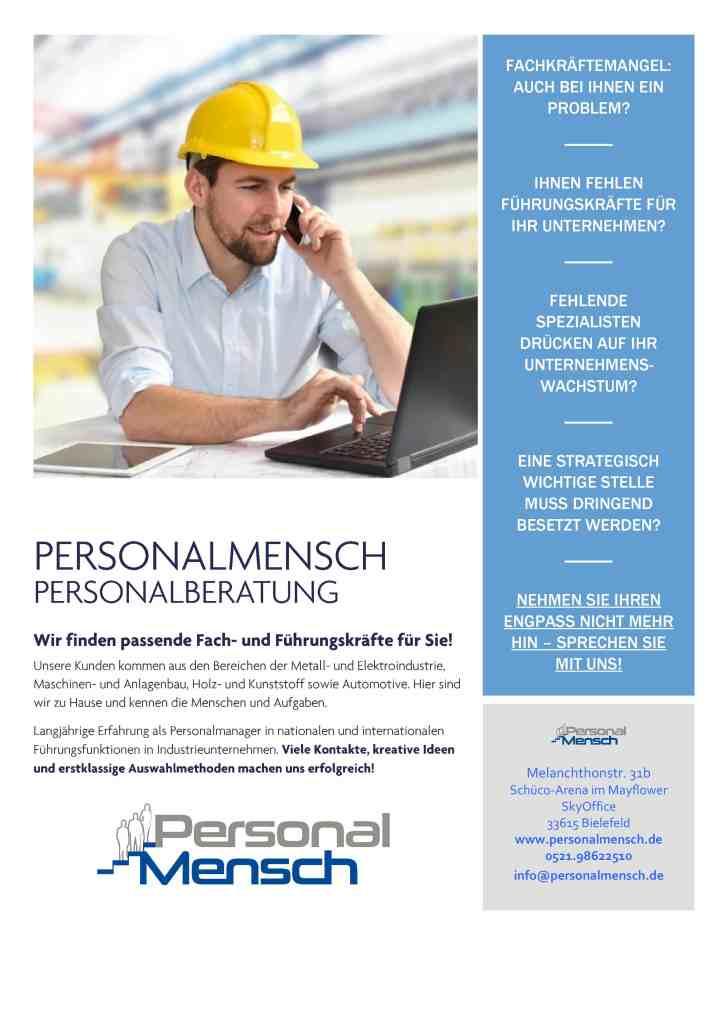 PersonalMensch Personalberatung Bielefeld NRW