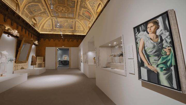 EN- Tamara De Lempicka. Reina del Art Déco' in Madrid, palacio de gaviria until february 24