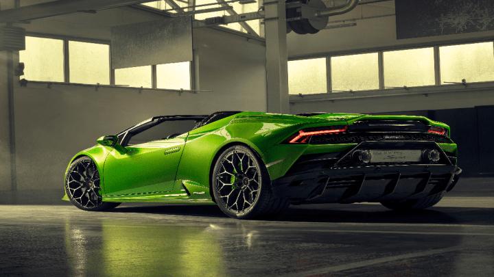 Automobili Lamborghini svela la Huracán EVO Spyder al Salone dell'auto di Ginevra 2019