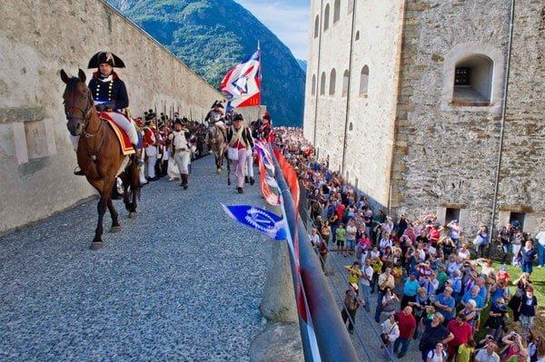 Napoleonica 2019 al Forte di Bard: la storia si racconta