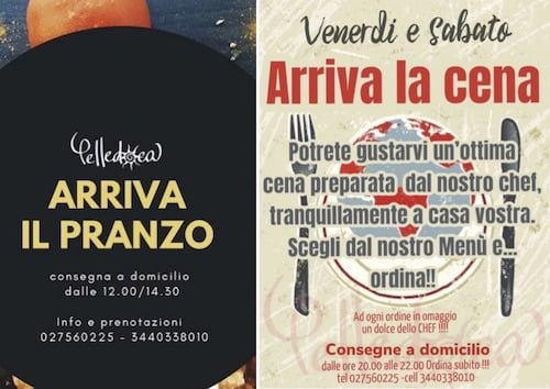 #tisostengo Pelledoca Milano: pranzo dal lunedì al venerdì e cena nel weekend