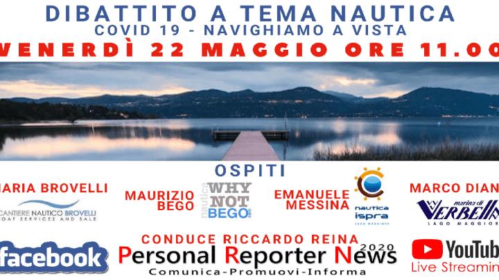 Navighiamo a vista – Dibattito sul tema Nautica del Lago Maggiore venerdì 22 maggio alle 11.00