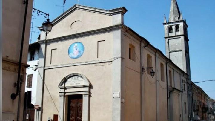 La chiesa di San Michele a Crescentino