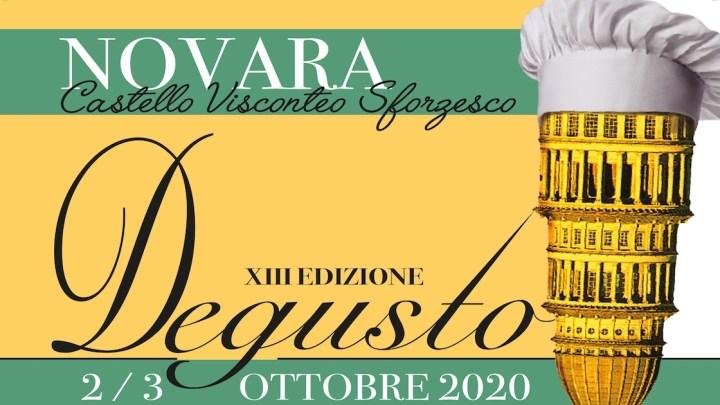 Il 2 e 3 ottobre al Castello di Novara arriva la 13ima edizione di Degusto