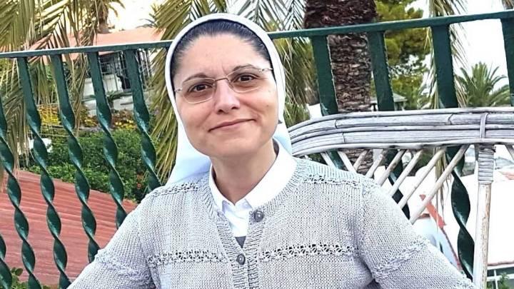 Suor Anna Monia Alfieri e l'augurio per le prossime elezioni Aronesi