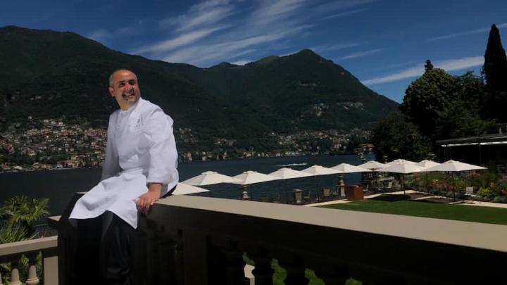 Lo chef Vincenzo Guarino saluta il Mandarin Oriental del Lago di Como