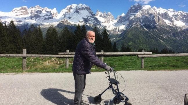 Cesare Maestri, il ragno delle Dolomiti è salito più in alto