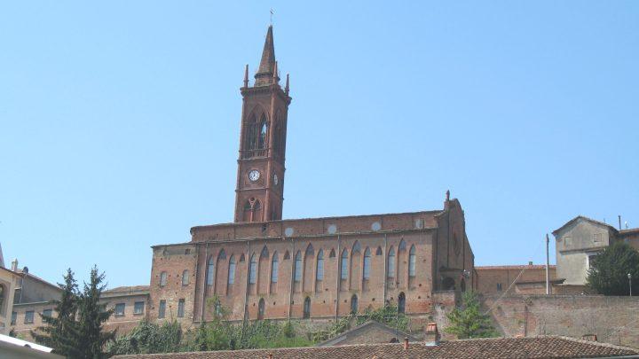 La chiesa parrocchiale dell'Assunzione di Maria a Fubine