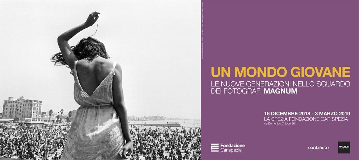 """Mostra""""Un mondo giovane"""": le nuove generazioni nello sguardo dei fotografi MAGNUM"""