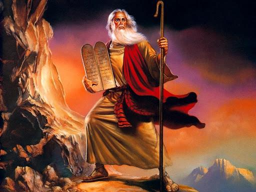Mosè, salvatore degli Ebrei dall'Egitto
