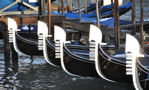 Le magiche gondole di Venezia
