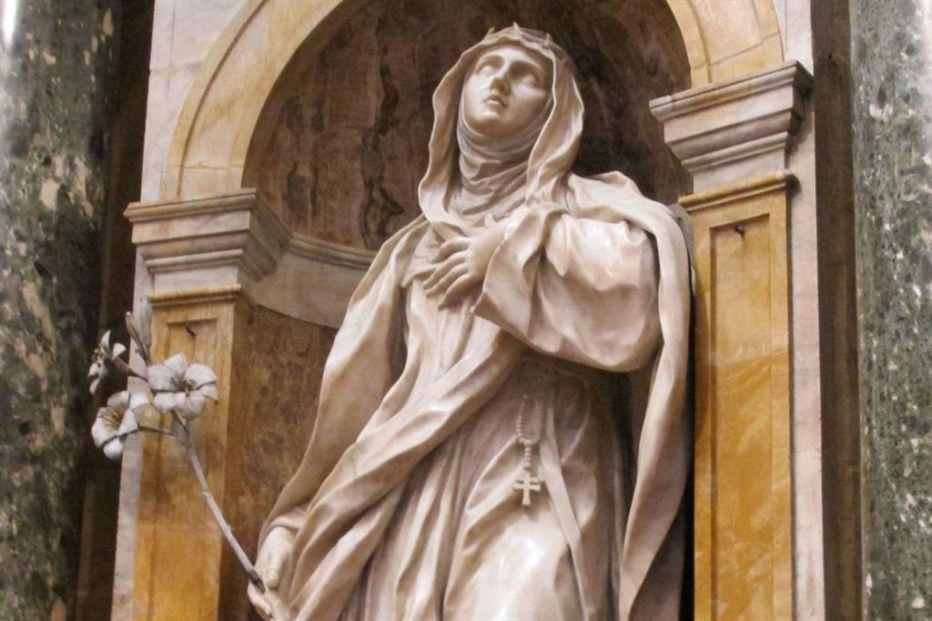 Santa Caterina da Siena, protettrice dell'Europa