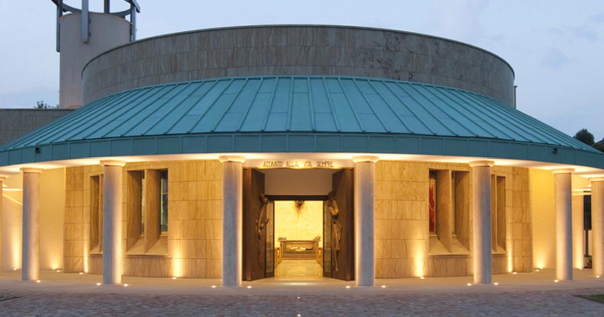 Il santuario e il museo di Don Gnocchi a Milano