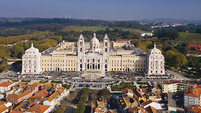 Il complesso portoghese di Mafra